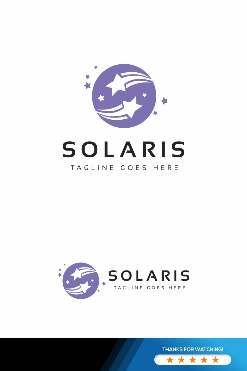 Solaris S Letter Logo Template - screenshot