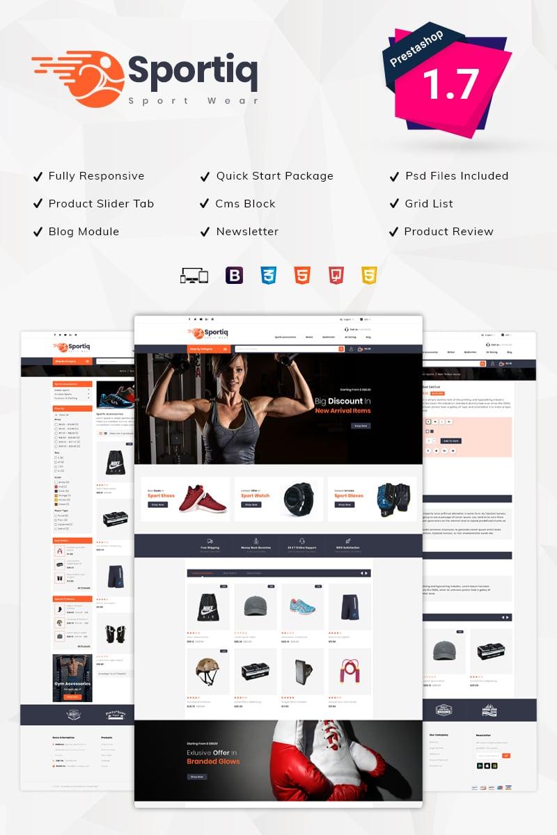 Sportiq Sports Store PrestaShop Theme