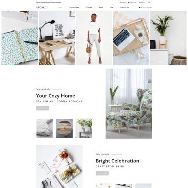 Купить  пофессиональные Shopify шаблоны. Купить шаблон #76483 и создать сайт.