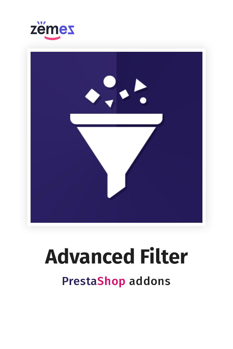"""""""Advanced Filter"""" - адаптивний PrestaShop розширення №76466"""