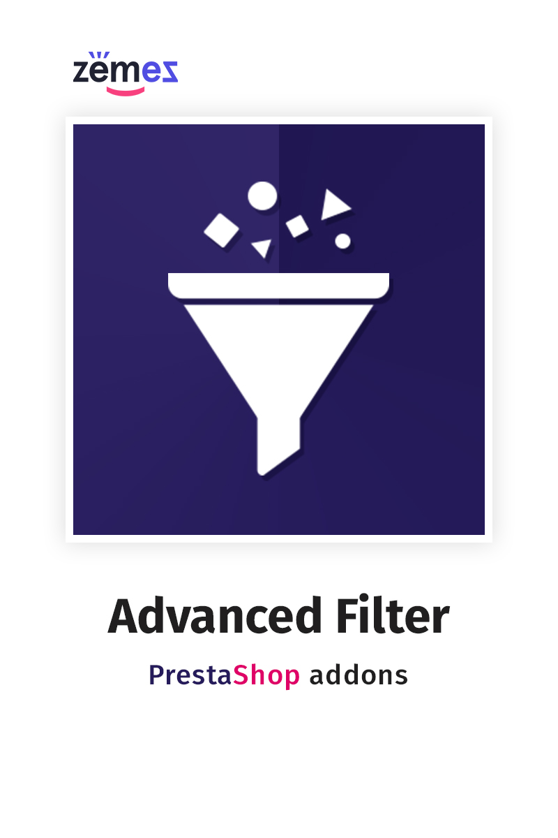"Modello Modulo PrestaShop Responsive #76466 ""Advanced Filter"""