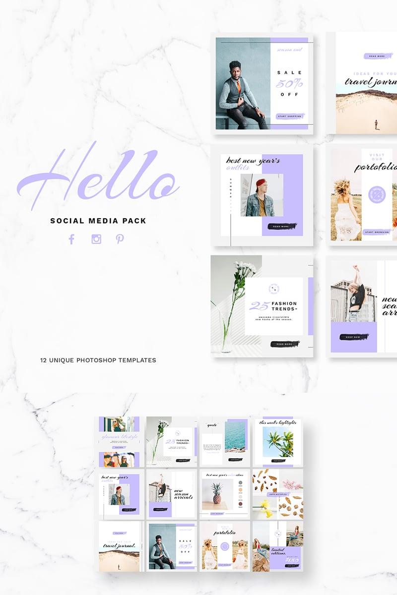 "Soziale Medien namens ""Hello Pack"" #76476 - Screenshot"