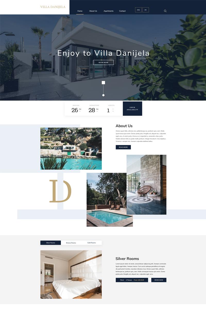 Villa Danijela Psd #76407