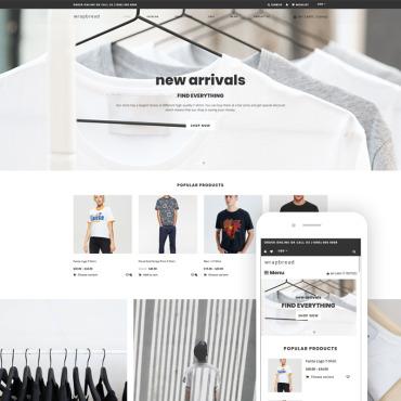 Купить  пофессиональные Shopify шаблоны. Купить шаблон #76559 и создать сайт.