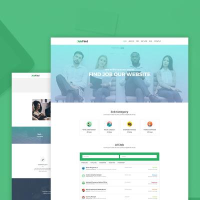 Job Portal Templates   TemplateMonster