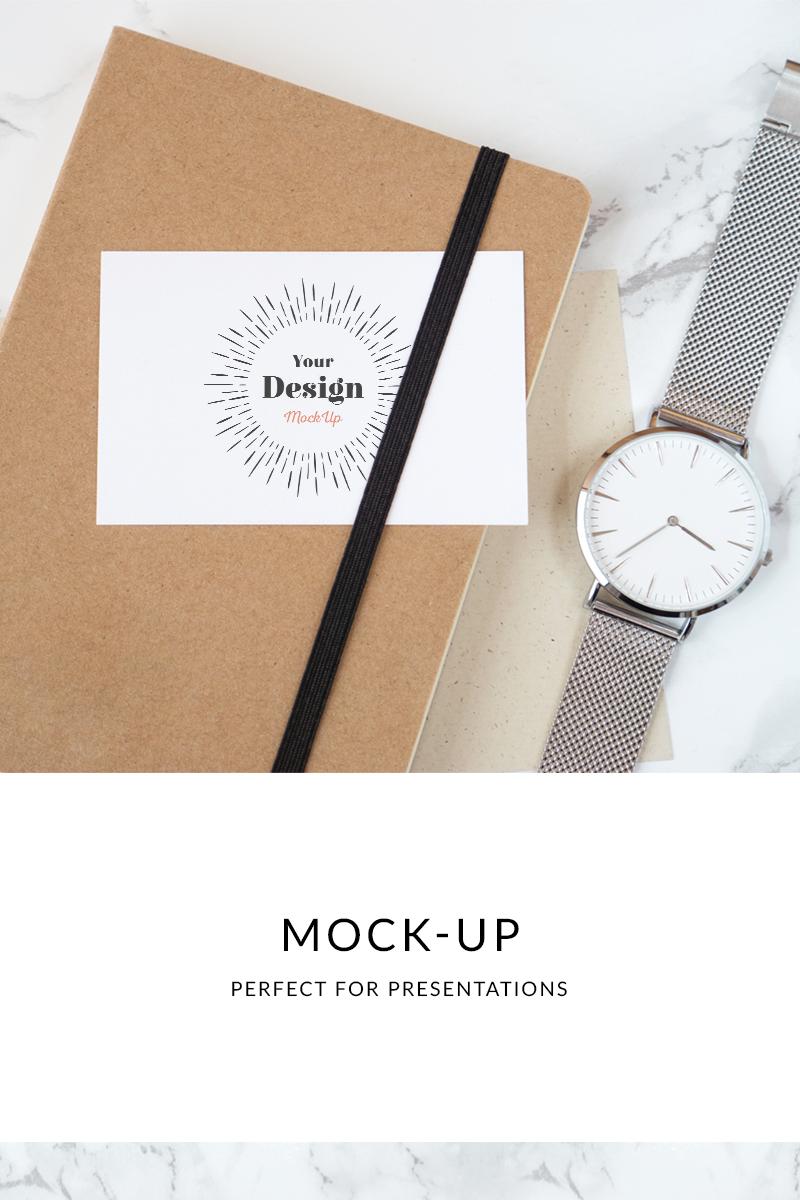 """Modello Mockup del prodotto #76598 """"Business Card"""" - screenshot"""