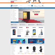 supermarket the best store bootstrap woocommerce template