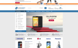 """Template WooCommerce Responsive #76531 """"Supermarket - The Best Store"""""""