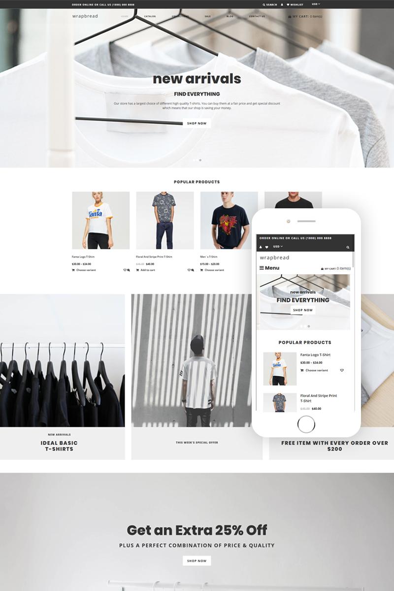 Wrapbread - Fashion Multipage Clean Shopify Theme
