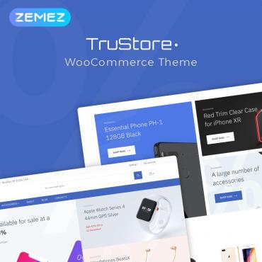Купить  пофессиональные WooCommerce шаблоны. Купить шаблон #76609 и создать сайт.