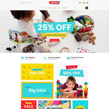 Купить  пофессиональные MotoCMS шаблоны для интернет-магазинов. Купить шаблон #76633 и создать сайт.