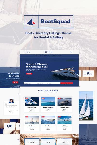 BoatSquad - Boats Directory Listings