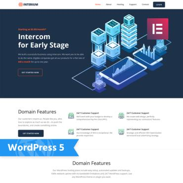 Купить  пофессиональные WordPress темы. Купить шаблон #76731 и создать сайт.