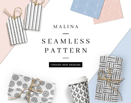 MALINA 36 Seamless Pattern