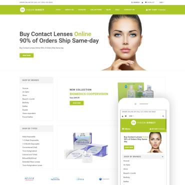 Купить  пофессиональные Shopify шаблоны. Купить шаблон #76766 и создать сайт.