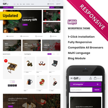 Купить  пофессиональные WooCommerce шаблоны. Купить шаблон #76780 и создать сайт.
