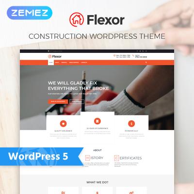 Maintenance Services Responsive Tema WordPress