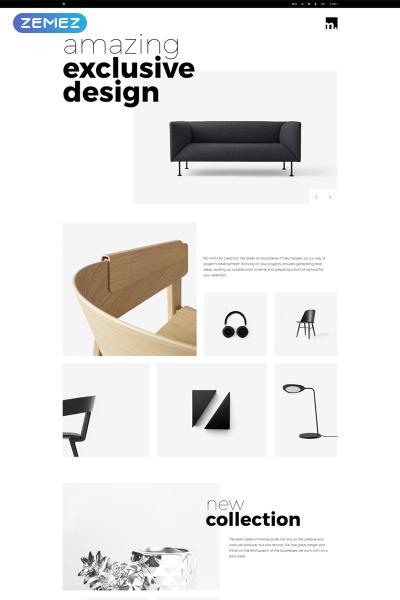 Адаптивный OpenCart шаблон №76791 на тему мебель