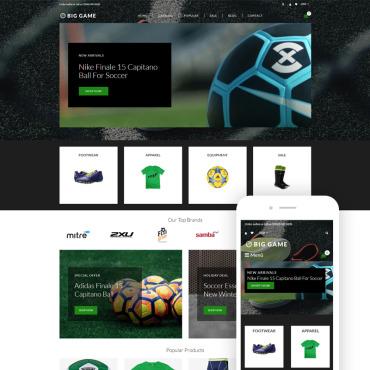 Купить  пофессиональные Shopify шаблоны. Купить шаблон #76829 и создать сайт.