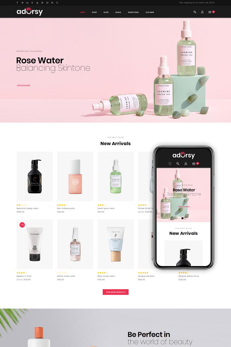 """Adorsy - Fashion Accessories Store"" Responsive WooCommerce Thema №76847 - screenshot"