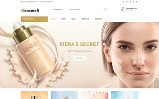 Cosmeli - Cosmetics & Beauty for WordPress. WooCommerce Theme