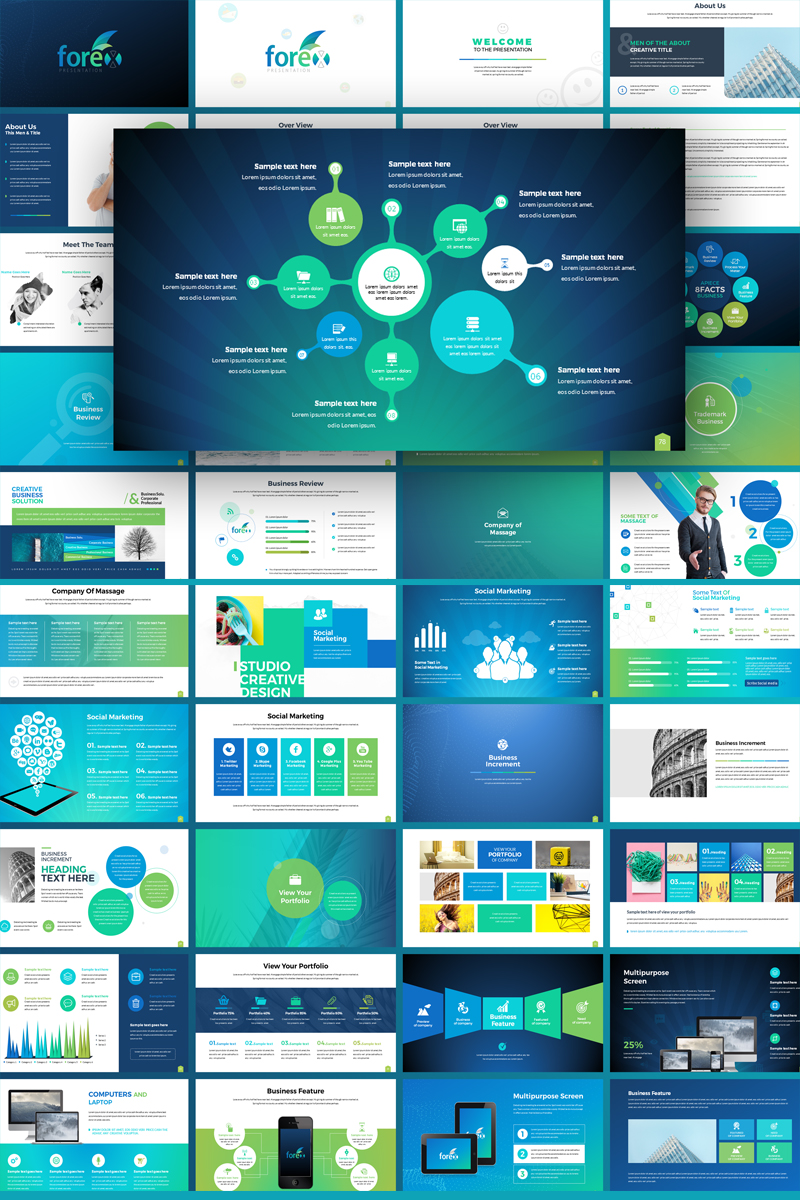 Forex - Multipurpose Infographic PowerPoint Template