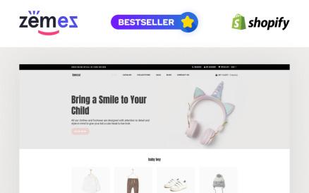 Bwear - Baby Clothing Store Modern Shopify Theme