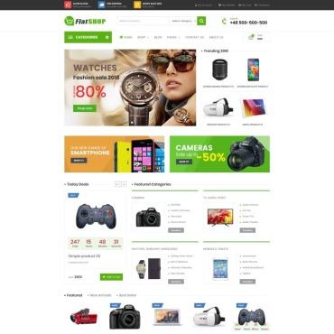 Купить  пофессиональные WooCommerce шаблоны. Купить шаблон #76951 и создать сайт.