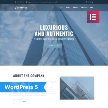 Купить  пофессиональные WordPress темы. Купить шаблон #76974 и создать сайт.