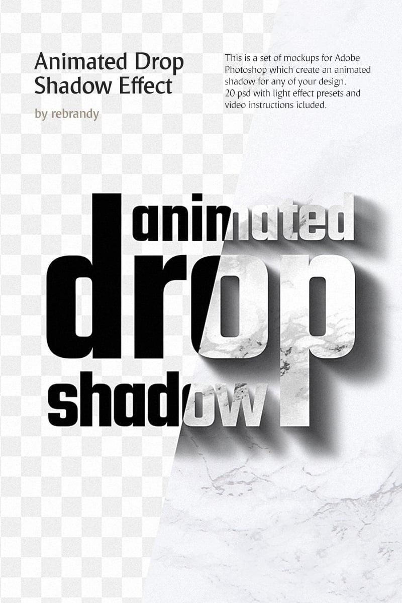 """Animated Drop Shadow Effect"" - Мокап продукту №76911"
