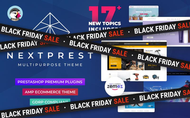 "Modello PrestaShop Responsive #76952 ""Nextprest  - Website Ecommerce Online Store"""
