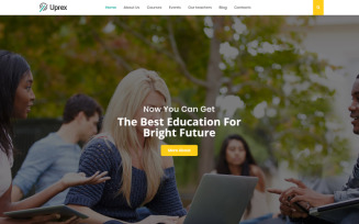 Uprex - Education Multipurpose Modern WordPress Elementor Theme