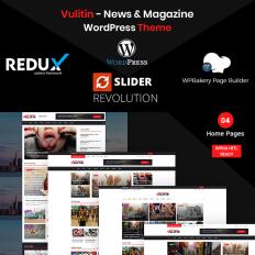 Wordpress Magazine Buddypress Themes - Template Monster
