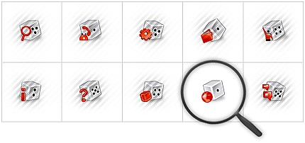 Icon Set Template 7793 Screenshots