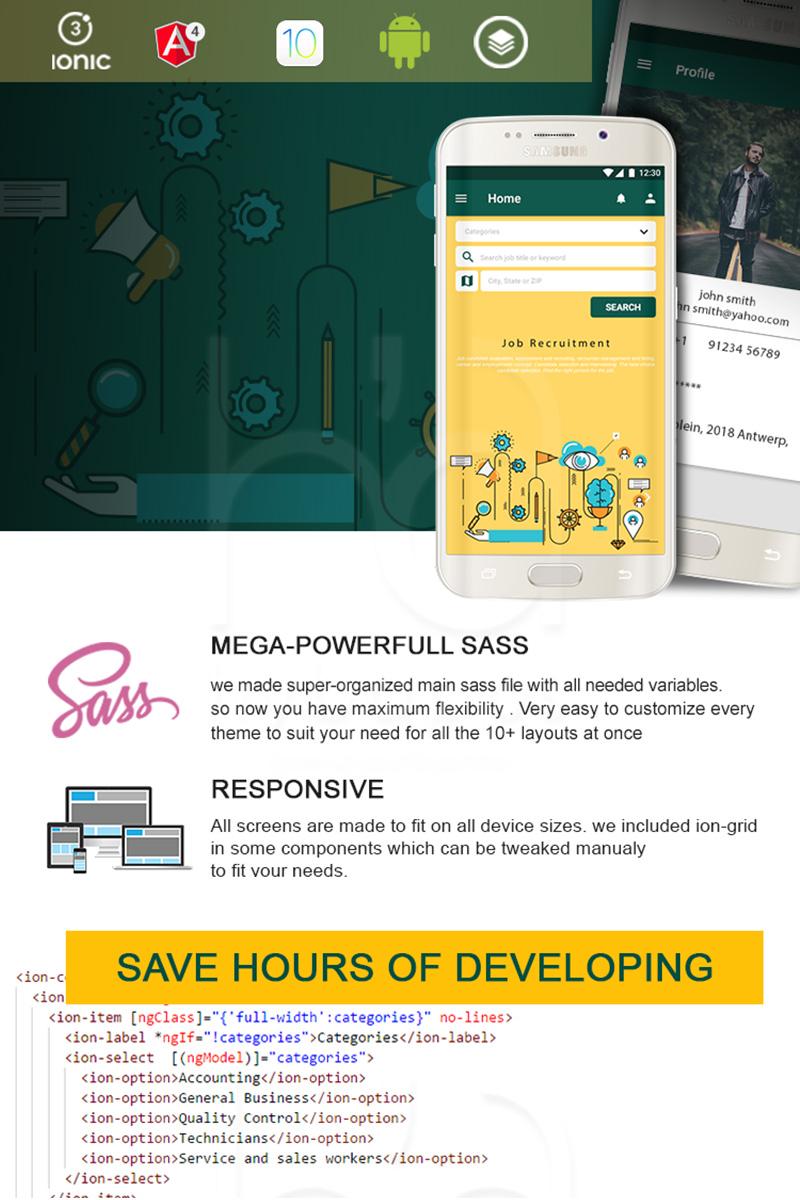 Jobs App Template