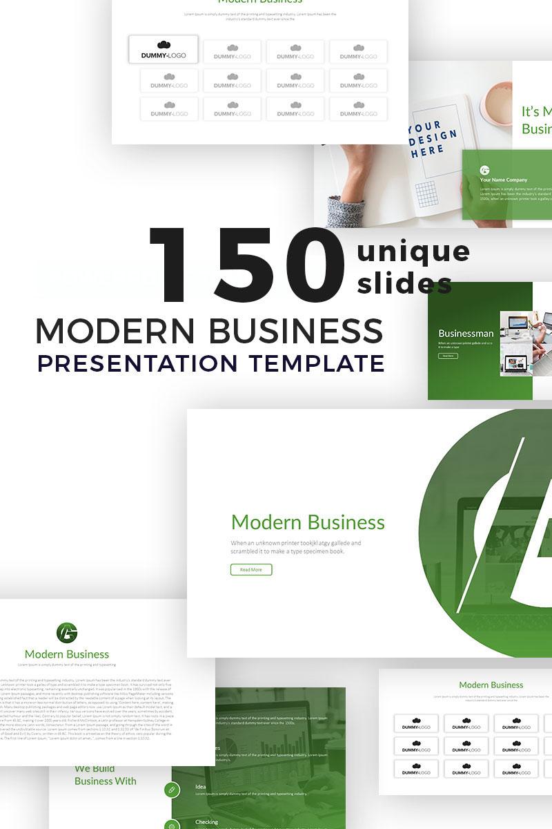 """""""Modern Business Presentation"""" modèle PowerPoint  #77067 - screenshot"""
