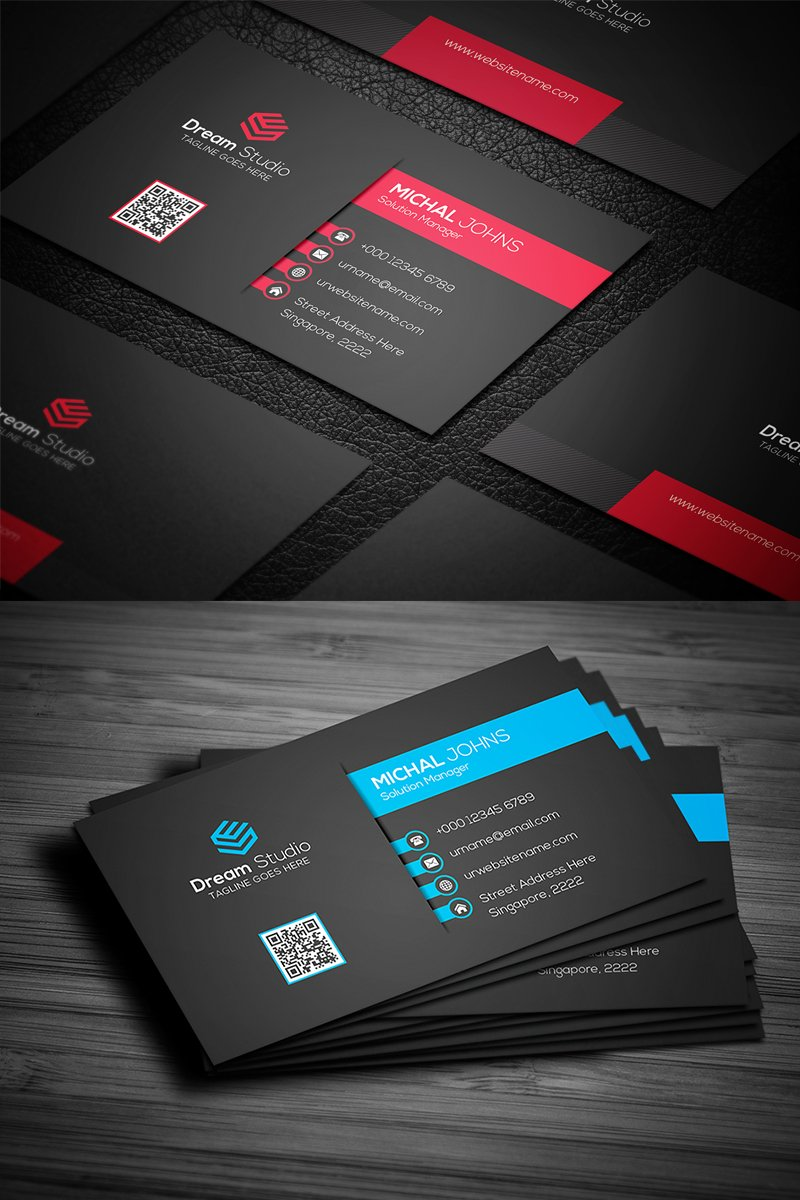 Modern Professional Business Card Corporate Identity ...