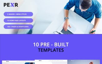 Pexr - Responsive Multipurpose HTML5 Website Template