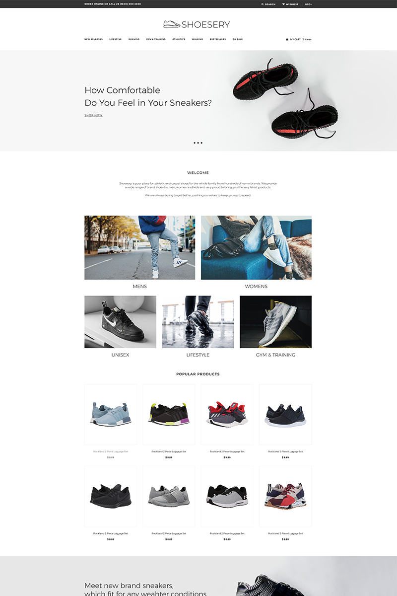 Shoesery - Shoe Store Clean №77026
