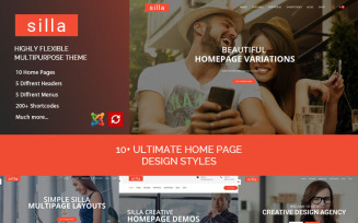 Silla | Responsive Multipurpose Joomla Template