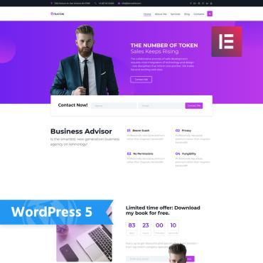 Купить  пофессиональные WordPress темы. Купить шаблон #77154 и создать сайт.