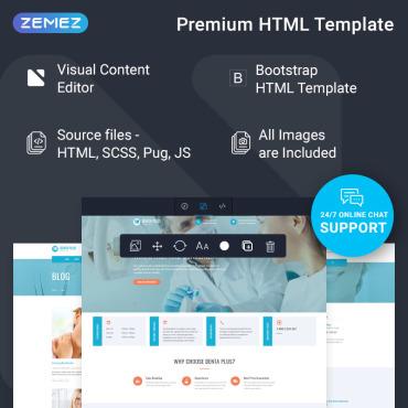 Купить  пофессиональные Bootstrap и html шаблоны. Купить шаблон #77199 и создать сайт.