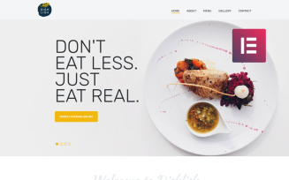 Dishlish - Restaurant Multipurpose Classic WordPress Elementor Theme