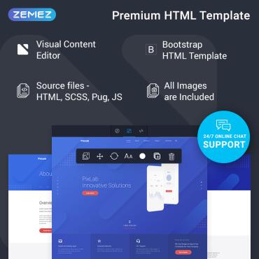 Купить  пофессиональные Bootstrap и html шаблоны. Купить шаблон #77219 и создать сайт.