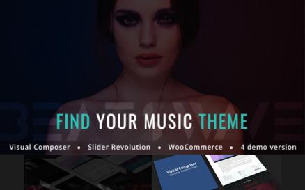 Beatswave - Creative Music WordPress Theme