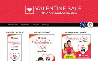 Valentine Sale Shopping