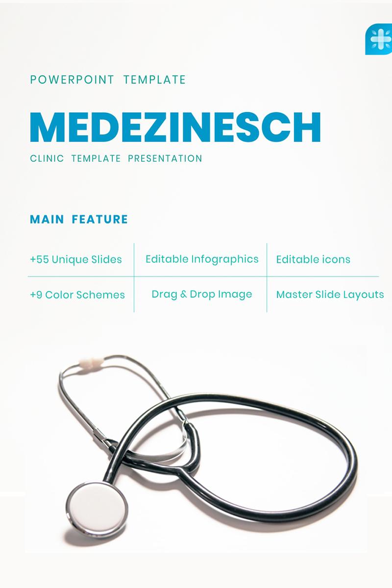 Medezinesch - Medical PowerPoint Template - screenshot