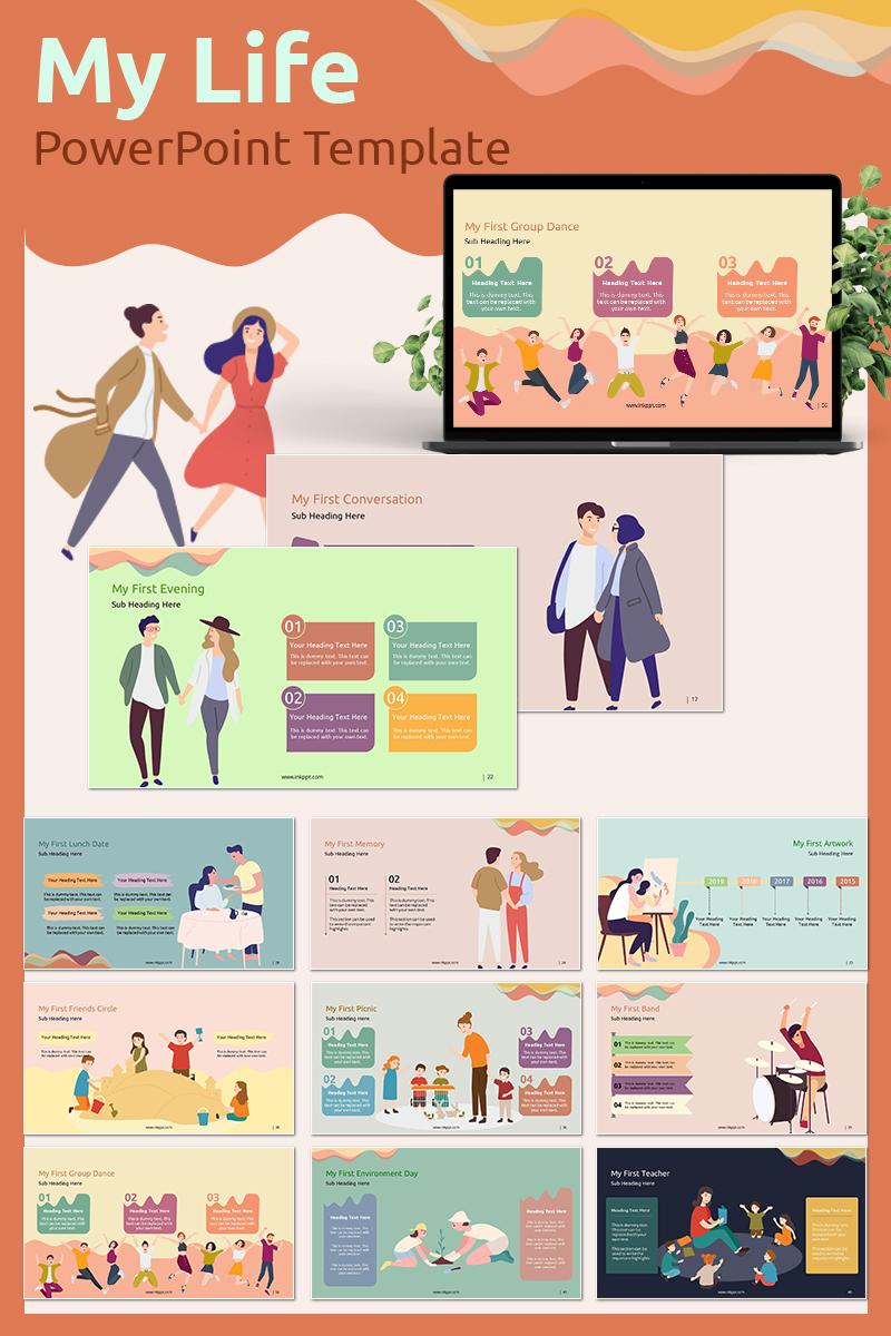 My Life PowerPoint Template - screenshot