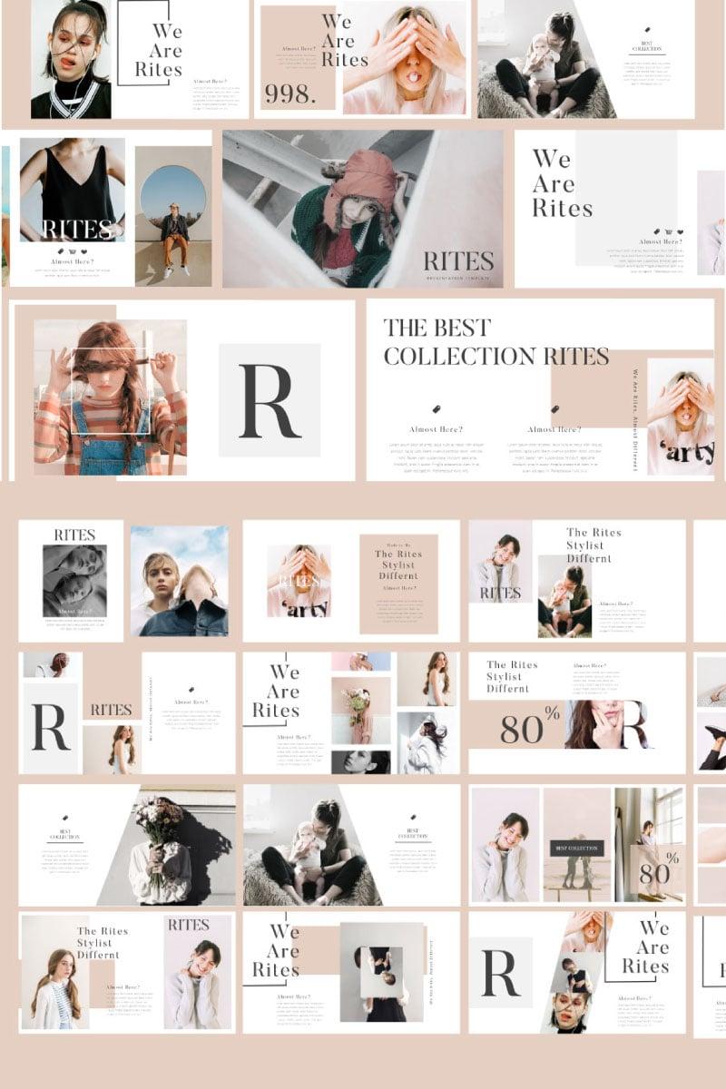 Rites Creative Keynote Template - screenshot