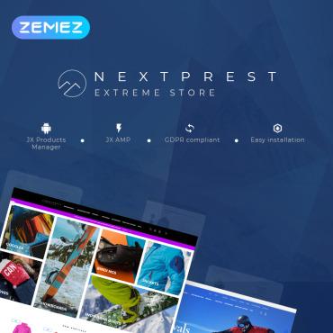 Купить  пофессиональные PrestaShop шаблоны. Купить шаблон #77330 и создать сайт.